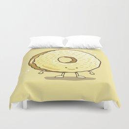 The Golden Donut Duvet Cover