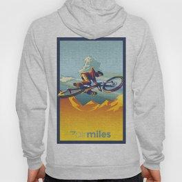 "Retro Mountain Bike Poster/ Illustration / fine art print 11X17""  My AirMiles Hoody"
