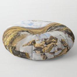 Moorland Falls Floor Pillow