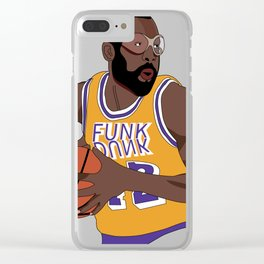 Los Angeles Basketball Legend Clear iPhone Case