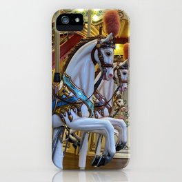 Vintage Carousel Horse iPhone Case