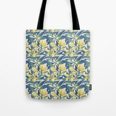 Vanilla flowers Tote Bag