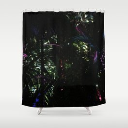 Cosmic plants Shower Curtain