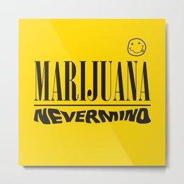 Marijuana nirvana Metal Print