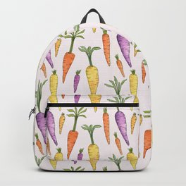 Watecolor Heirlom Carrots Backpack