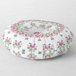 Ethnic floral ornament 2 Floor Pillow