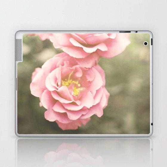 Haze Roses (Retro and Vintage Flower Photography) Laptop & iPad Skin
