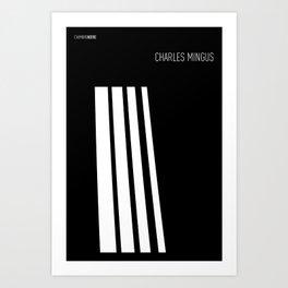 Jazz Charles Mingus Art Print