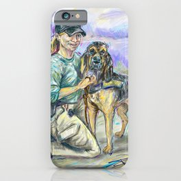 AJ & Gunner iPhone Case