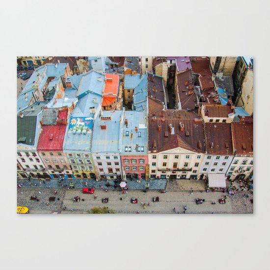 panorama Lviv Canvas Print