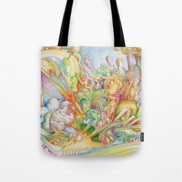 color drop Tote Bag