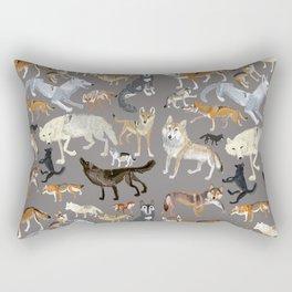 Wolves of the world 1 Rectangular Pillow