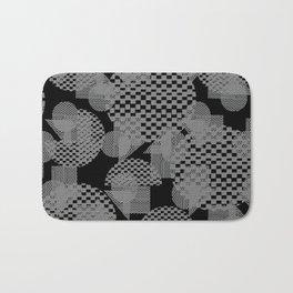 geometry pattern Bath Mat