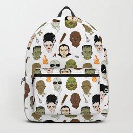 Monster Mash pattern Backpack