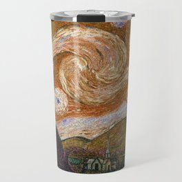 Vincent Van Gogh Starry Night 1889 Travel Mug