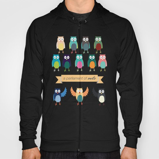 A Parliament of Owls Hoody