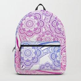 Violet Mandala Backpack
