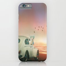 NEVER STOP EXPLORING A SUNDOWN Slim Case iPhone 6