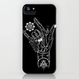 Rock On Hombre iPhone Case