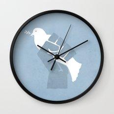 Obtain Peace Revolution Wall Clock