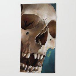 Skull 2 Beach Towel