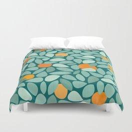 Sunny Orange Grove Duvet Cover