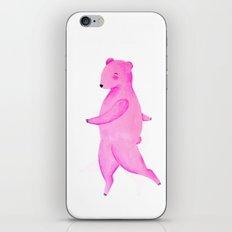 Dancing Bear №2 iPhone Skin