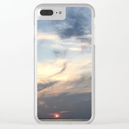 The Sun Sleeps Clear iPhone Case