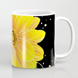 Helianthus Midnight - The Color of Vitality, Intelligence, and Happiness Coffee Mug
