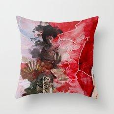 Geisha's Delight Throw Pillow
