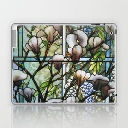 Louis Comfort Tiffany - Decorative stained glass 8. Laptop & iPad Skin