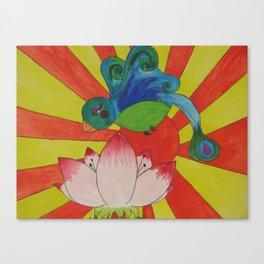 Lotus B Canvas Print