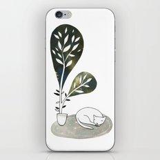 Tiny Cat iPhone & iPod Skin