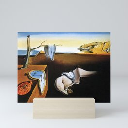 Dalí  - persistence of memory Mini Art Print