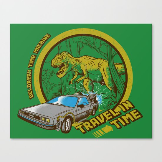 Travel in Time Canvas Print