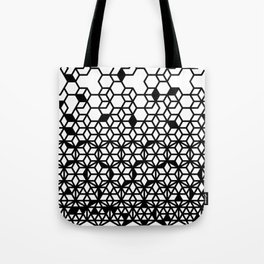 Dissecting geometric patterns (white) Tote Bag