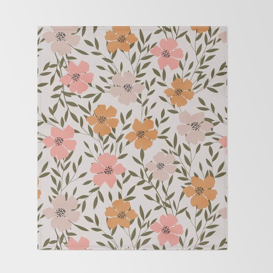 70s Floral Theme by cafelab