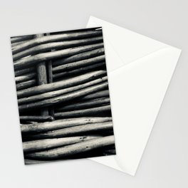 noir basket Stationery Cards