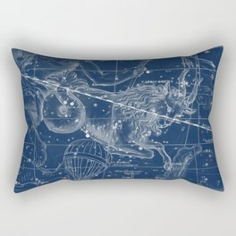 Capricorn sky star map Rectangular Pillow