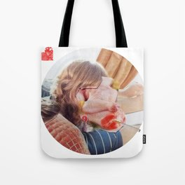 Meat Herz Lady Tote Bag