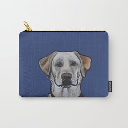 Huckleberry the yellow lab Carry-All Pouch