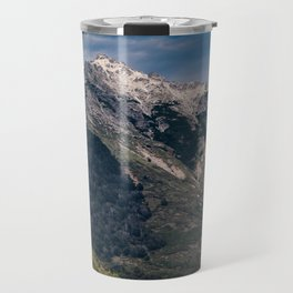 Impressive Mountain landscape patagonia Travel Mug