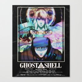 Ghost in the Shell Poster Canvas Print