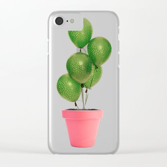 CACTUS BALLOON Clear iPhone Case
