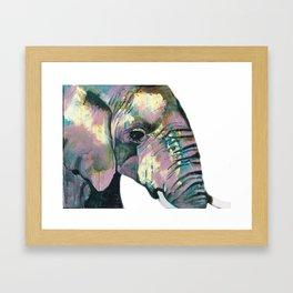 Jeweled Elephant Framed Art Print