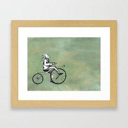 Rabbit's Bone Shaker Ride Framed Art Print