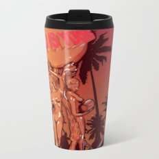 Scarface (world is yours) Metal Travel Mug