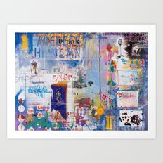 It's opener out there in the wide open air Art Print