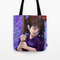 Kiki and Jiji Tote Bag