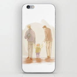 Becoming a Family iPhone Skin